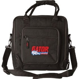 Gator Deluxe Padded Music Gear Bag, 12X12 Inches