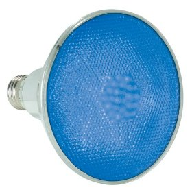 Lamplite LL-Par38LEDB Blue LED Flood Lamp Medium Screw Base