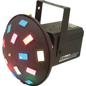 ELIMINATOR Sound Activated effect light w/40 crisscrossing color beams
