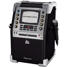The Singing Machine SMG-901 CD/CD+G Karaoke System with 5.5