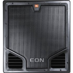 JBL EON 518S Portable 18-inch 500-Watt Self-Powered Subwoofer with Crossover, Dual Inputs,Loopthrough for Sattelite Speakers and Pole Mount Socket