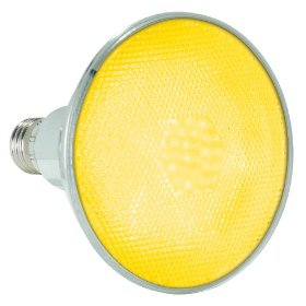 Lamplite LL-Par38LEDY Yellow LED Flood Lamp Medium Screw Base
