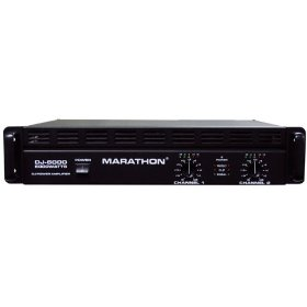 Marathon DJ-6000 DJ Series Amplifier 900@8 Ohms - 1800@4 Ohms - Up To 6000@8Ohm BrIDge