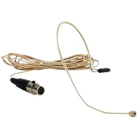 Anchor Audio EM-60T Microphone UltraLite Over The Ear Microphone TA4F-XLR Connector Now called the EM-TA4F- Tan-For use With Anchor Audio Bodypack