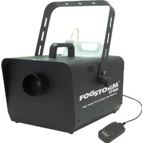American DJ Fog Storm 1700 HD High Output Fog Machine With Timer Remote