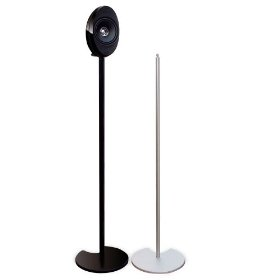 Speaker Stand for both KHT3005BL System and HTS3001BL satellite speakers - black finish