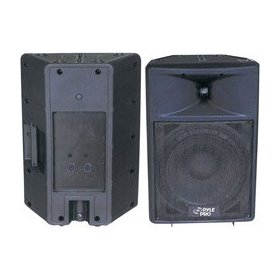 PYLE PPHP1290 800 Watt 12-Inch Two Way Plastic Molded Loudspeaker