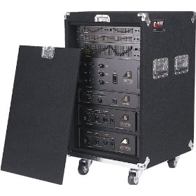 Odyssey CRP12W 12 Space 18.5 Deep Carpeted Pro Rack With Wheels