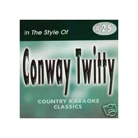 CONWAY TWITTY Country Karaoke Classics CDG Music CD