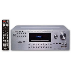 Acesonic DKR-510 320-Watt 5.1 Surround Sound, Bluetooth & DVD Karaoke Receiver