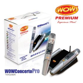 WOW Videoke Concerto Pro TKR320MR 2010 Edition- with 2,934 Songs