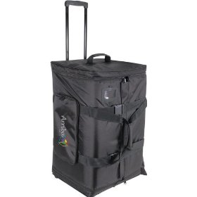 Arriba Cases AS-175 Padded Rolling Pro Speaker Transport Bag