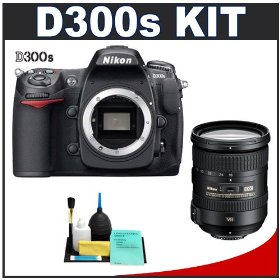 Nikon D300s Digital SLR Camera + 18-200mm f/3.5-5.6 G ED VR [Vibration Reduction] II DX Lens + Cameta Bonus Accessory Kit