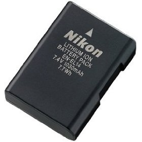 Nikon EN-EL14 Rechargeable Li-Ion Battery for Nikon D3100 SLR and P7000 Digital Cameras