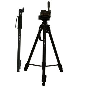 Dolica STC-100 63-Inch Tripod and 68-Inch Monopod Combo