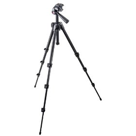 Manfrotto 7321YB  M-Y Tripod with 3-Way Head - Replaces 718B