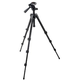 Manfrotto 7301YB  M-Y Tripod with 3-Way Head - Replaces 728B