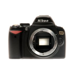 Nikon D60 10.2MP Digital SLR Camera Black Gold Special Edition (Body Only)