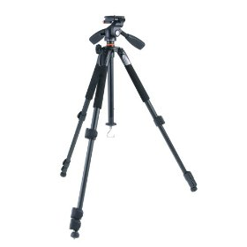 Vanguard Alta+ 204AP 4-Section Aluminum Tripod with 3-way Magnesium Alloy Panhead