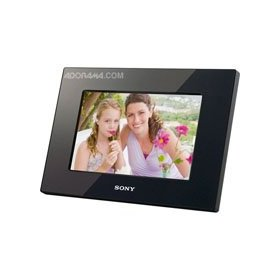 Sony DPF-D710 7-Inch WVGA LCD (16:10) Digital Photo Frame (Black)