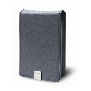 Canon PSC-1000 Deluxe Grey Leather Case for the Canon SD1000, SD1100IS, SD770IS nad SD1200IS Digital Cameras