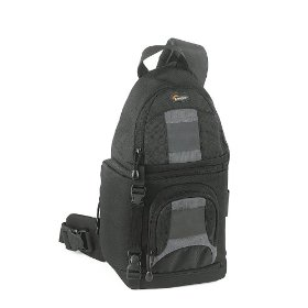 Lowepro SlingShot 100 All-Weather Digital Camera Backpack (Black)