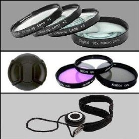 Professional Filter Kit For Nikon D3000 and D5000