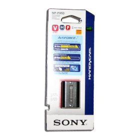 Sony NPFV50 Rechargeable Battery Pack (Black)