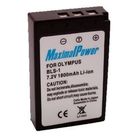 Maximal Power DB OLY BLS-1 Replacement Battery for Olympus Digital Camera/Camcorder (Black)