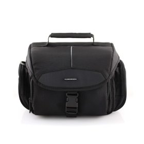 CaseCrown Nylon Satchel Digital DSLR Camera Carrying Case for Kodak EasyShare Z981 14MP Digital Camera