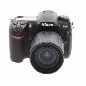 Nikon D200 10.2MP Digital SLR Camera with 18-135mm AF-S DX f/3.5-5.6G ED-IF Nikkor Zoom Lens