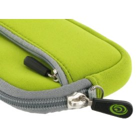 Neoprene Sleeve Case (Neon Green) for Nikon Coolpix S3000 12 MP Digital Camera Green