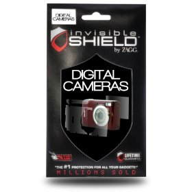 ZAGG invisibleSHIELD for Canon EOS 500D/Rebel T1I (Screen)