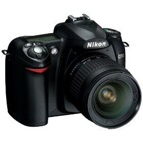 Nikon D50 6.1MP Digital SLR Camera with 28-80mm f3.3-5.6G AF Nikkor Zoom Lens