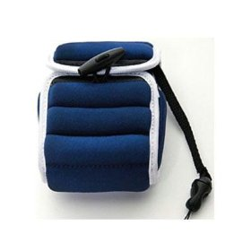 OLYMPUS 202352 Float Case (Navy with White Trim)
