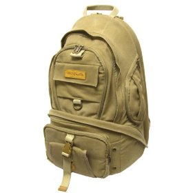Wolverine BP202 Camera and Laptop Backpack - 10x14x20 Inches
