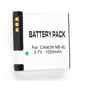 Power2000 NB-8L Replacement Lithium-Ion Battery, 3.6 volt 1000mAh, for Canon Powershot A3000IS & A3100 IS Digital Cameras
