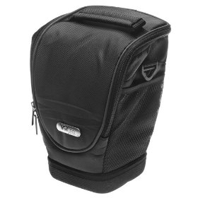 VidPro ZM-50 Holster Case for Digital SLR Camera w/ Zoom Lens for Canon EOS, Nikon, Olympus Evolt, Sony Alpha, & Pentax Digital SLR Cameras