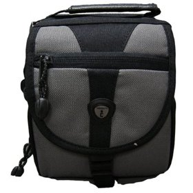 ICon NTV40-BLK Small Imaging Camcorder Gadget Bag (Black)