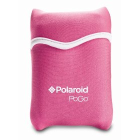 Polaroid Pink Carrying Case for PoGo Instant Mobile Printer