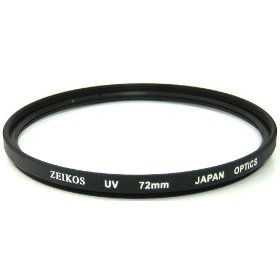 Zeikos ZE-UV72 72mm Multi-Coated UV Filter