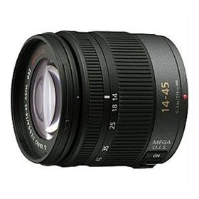 Panasonic H-FS014045PP 14-45mm f/3.5-5.6 OIS Micro Four Thirds Lens