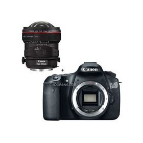 Canon EOS 60D Digital SLR Camera Body, with Canon TS-E 17mm f/4L Tilt-Shift Manual Focusing Lensal Focusing Lens