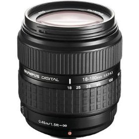 Olympus 18-180mm f/3.5-6.3 Zuiko Lens for E Series DSLR Cameras