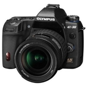 Olympus E30 12.3MP Digital SLR with Image Stabilization with 12-60mm f/2.8-4.0 Digital ED SWD Lens