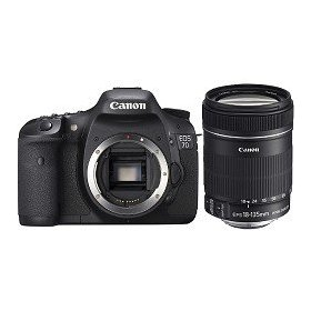 Canon EOS 7D - Digital camera - SLR - 18.0 Mpix - Canon EF-S 18-135mm IS lens - optical zoom: 7.5 x - supported memory: CF, Microdrive