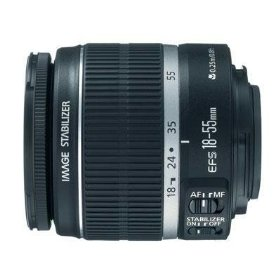 Canon EF - Zoom lens - 18 mm - 55 mm - f/3.5-5.6 IS - Canon EF-S