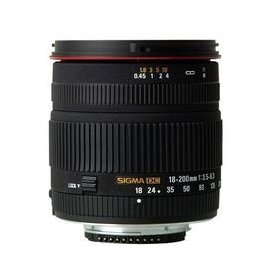 Sigma 18-200mm f/3.5-6.3 DC Lens for Nikon Digital SLR Cameras
