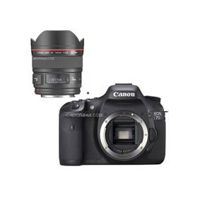 Canon EOS-7D Digital SLR Camera with 14mm f/2.8L II USM