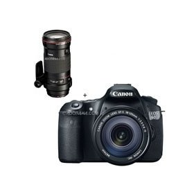 Canon EOS 60D Digital SLR Camera / Lens Kit. With EF 18-135mm f/3.5-5.6 IS USM Lens & EF 180mm f/3.5L Macro USM AutoFocus Telephoto Lens